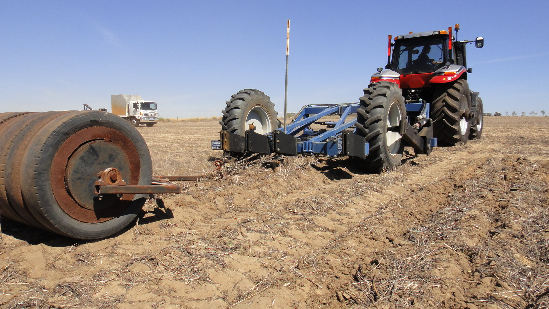 Deep ripping for soil compaction   Agriculture and Food