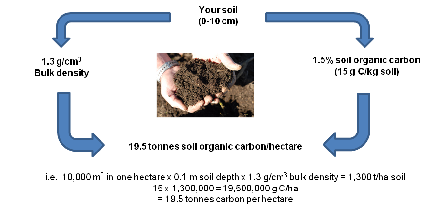 Measuring and reporting soil organic carbon agriculture for Soil organic carbon