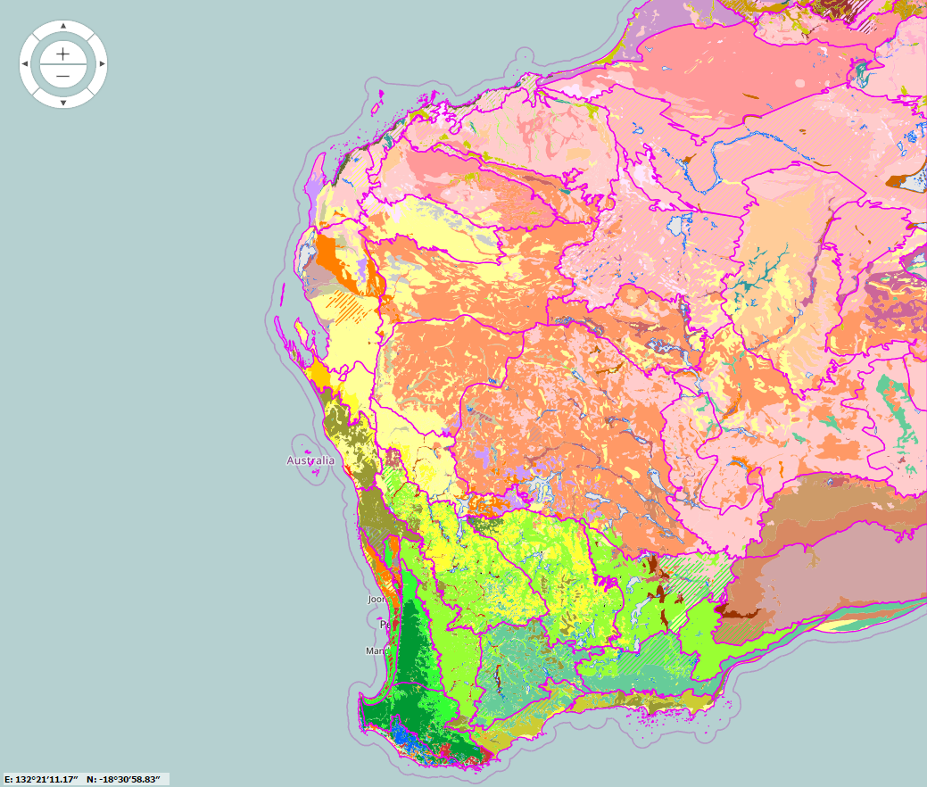 Wa Australia Map.Nrinfo For Western Australia Agriculture And Food