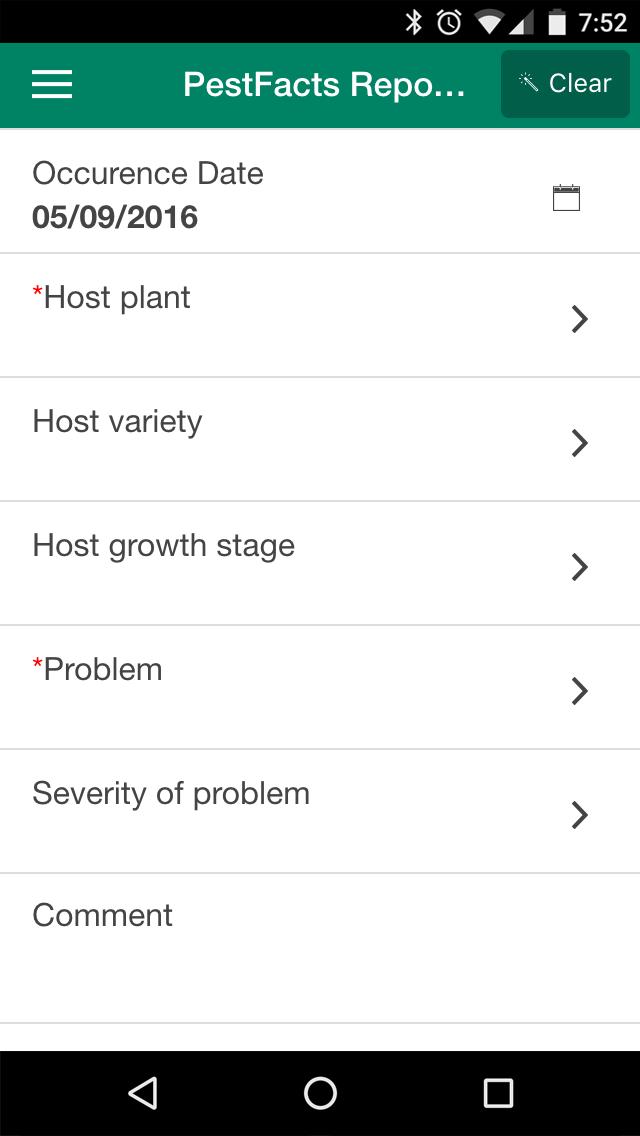 PestFacts App screenshot