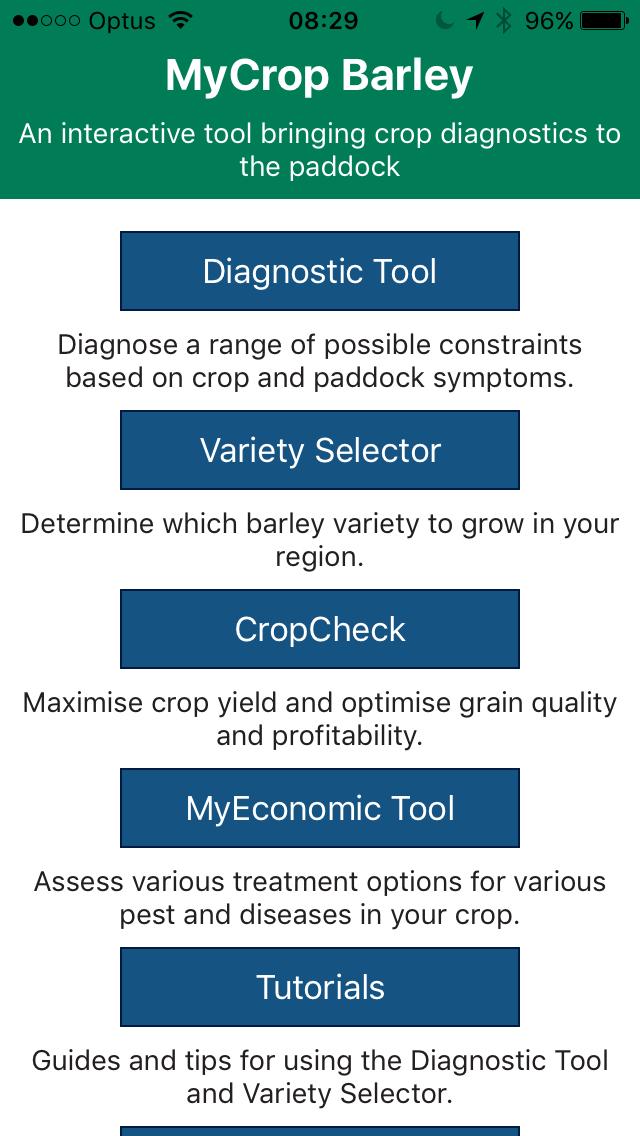 myCrop Barley screenshot