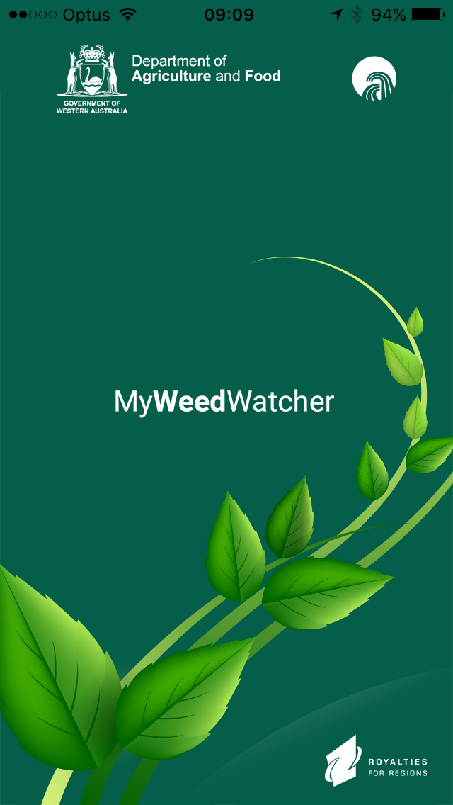MyWeedWatcher iPhone app mobile snapshot