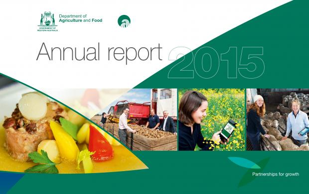DAFWA Annual report 2015 cover
