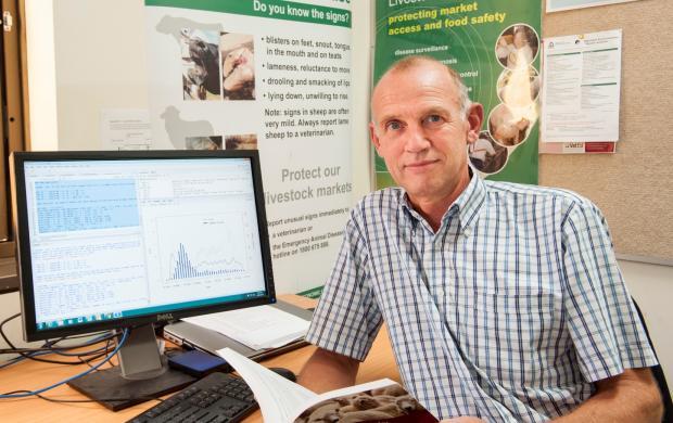Veterinary epidemiologist Dr Leo Loth