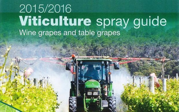2015 Viticulture Spray guide cover image