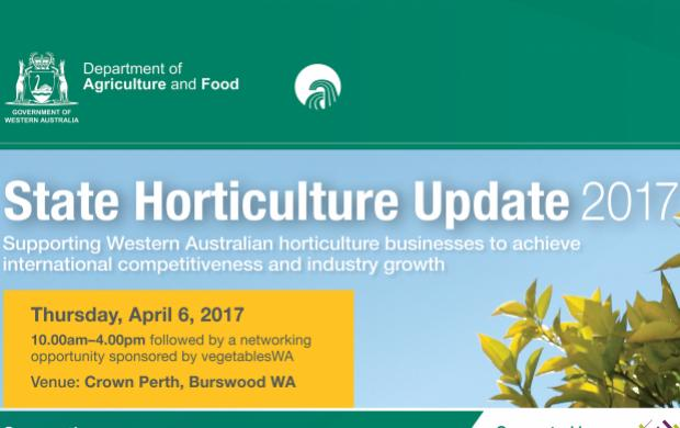 Benner for State Horticulture Update April 2017