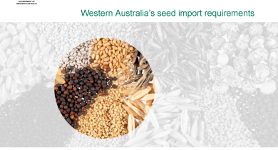 Cover of the QWA seed import requirements manual