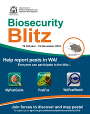 Biosecurity Blitz poster thumbnail
