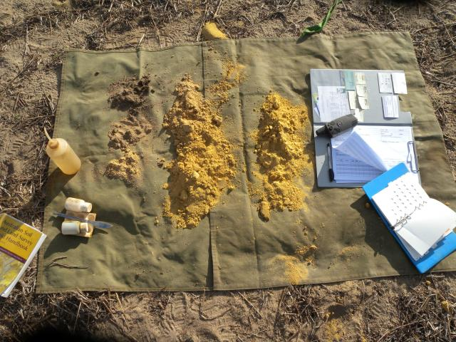 Soil characterisation kit