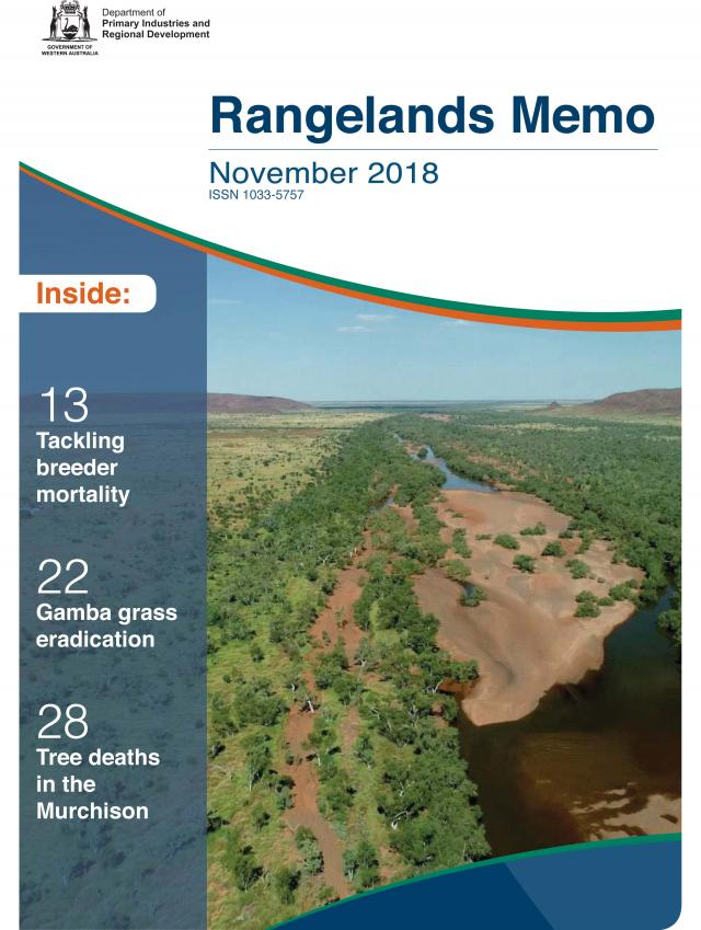 Rangelands Memo, November 2018