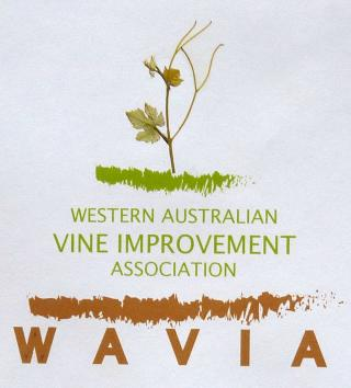 The logo shows the name Western Australian Vine Improvement Association below the image of a young vine and some soil