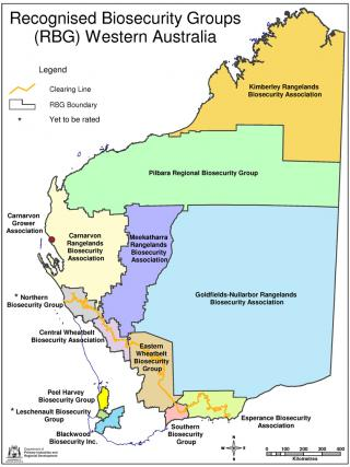 Western Australian Regional Biosecurity Groups