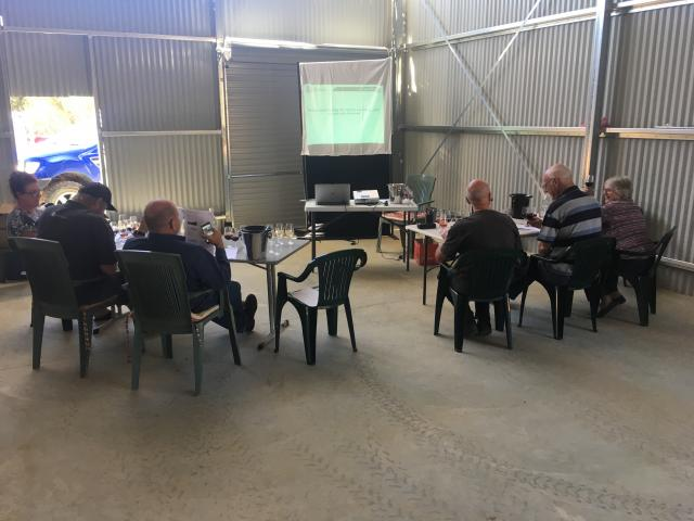 Participants at the recent Blackwood Valley Workshop