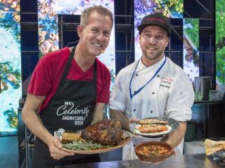 2017 Celebrity Signature Dish competition winner