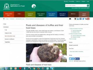 DAFWA gateway page pest and diseases bulletin