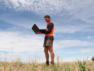 Hines Hill broadacre producer Cam Gethin is looking forward to integrating the information from the newly installed South Doodlakine Dopper radar into his farming operations.