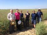 Project staff in the field