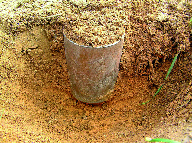 Measuring and reporting soil organic carbon agriculture for Soil bulk density