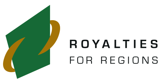 Royalties for Regions logo