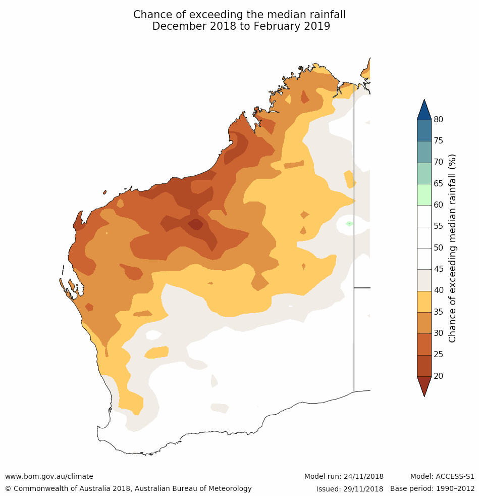 Seasonal Climate Outlook December 2018 | Agriculture and Food