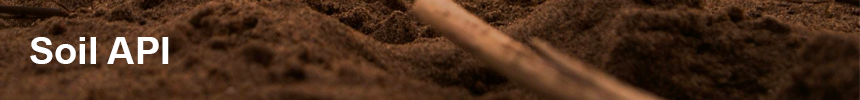 Soil banner