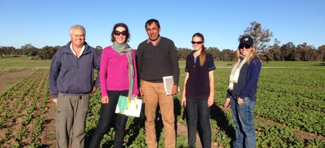 Tactical Break Crop Agronomy Team at Kojonup site