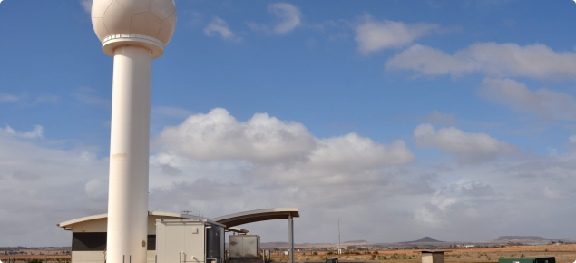 The completed upgrade to Doppler Radar capacity, at Geraldton.