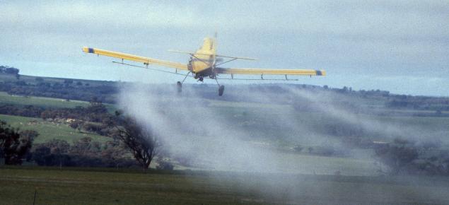 Aerial spraying