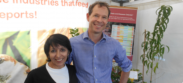 MyPestGuide and Dawson's nursery staff at the Perth Garden Festival 2018