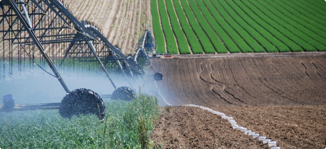 Testing of a pivot irrigation system