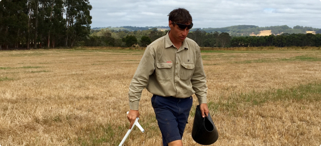 Undertaking soil sampling