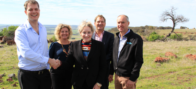 Digital Farm Grants Program project event at Mt Fairfax, Geraldton