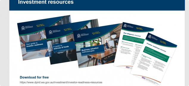 Free Investor Readiness resources to download