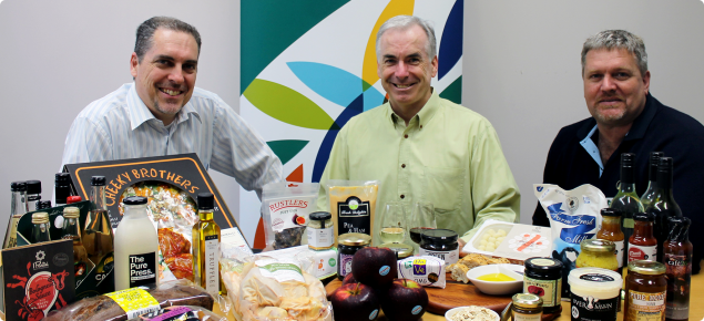 Premium Western Australian food being featured by Department of Agriculture and Food staff