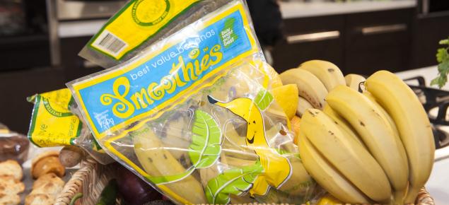 Sweeter Banana branded bananas