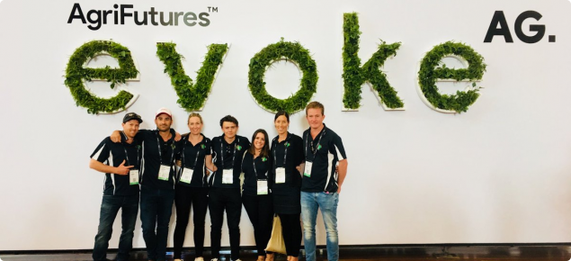 MIG attendees at evokeAG
