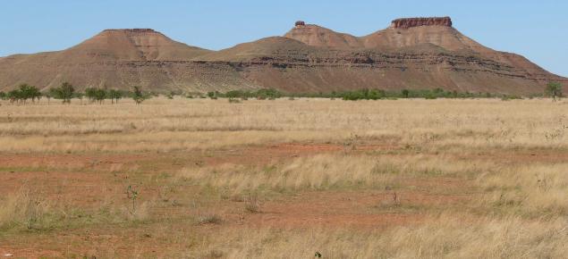 Rocky ridge, Margaret land system, West Kimberley