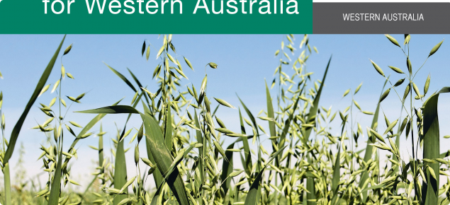 cover page of the 2018 Oats Variety Sowing guide