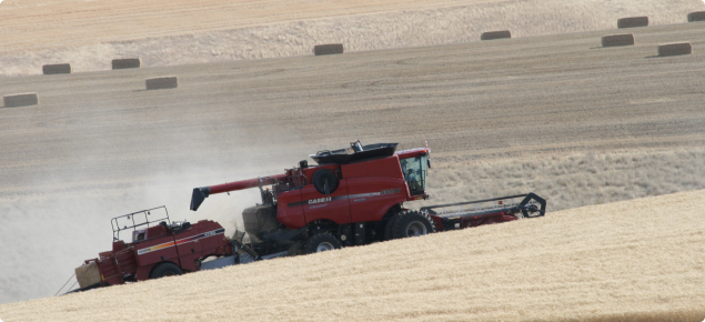 A one-pass baling system