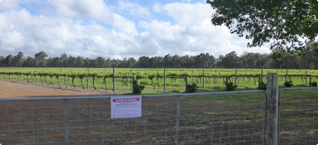 Barriers and signage are important parts of good farm biosecurity