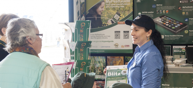 DAFWA biosecurity staff promote the MyPestGuide app