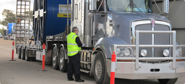 Commercial carriers must declare all items they are carying at quarantine checkpoints