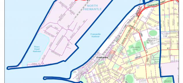 map of quarantine area