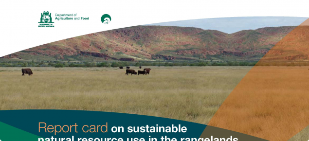 Report card on sustainable natural resource use in the rangelands cover page
