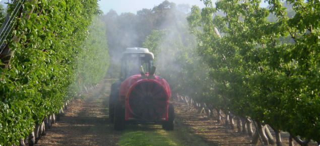 Both the calibration of orchard sprayers and making the right choice of product to spray are included in the orchard spray guide