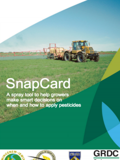 SnapCard promotional brochure cover