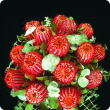 red cocinea flowers