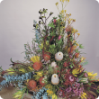 A flower arrangement of  Western Australian wildflowers including Banksia's, Kangaroo Paw and Wax Flowers.