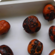 Jujube fruit with brown spot