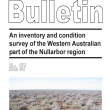 An inventory and condition survey of the Western Australian part of the Nullarbor region